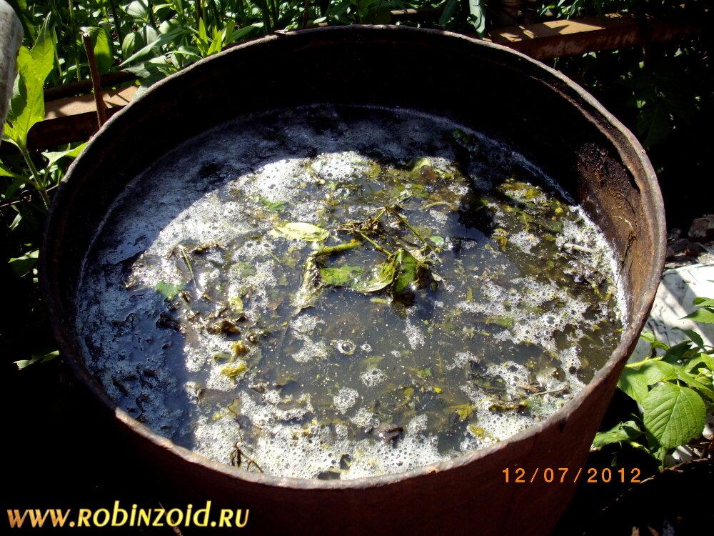 Жидкие удобрения из растений