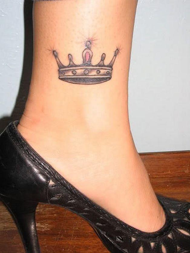 Корона на ногах