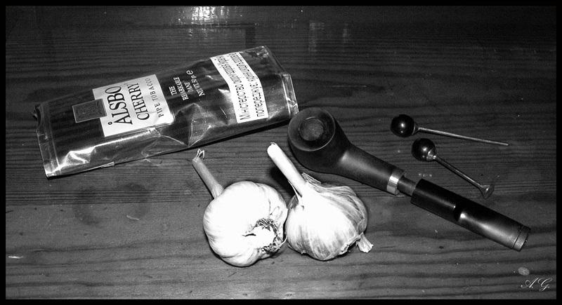 Табак и чеснок